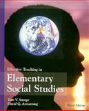Effective Teaching in Elementary Social Studies 9780133708264