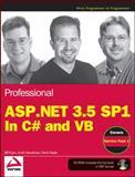 Professional ASP. Net 3. 5, Bill Evjen and Scott Hanselman, 0470478268