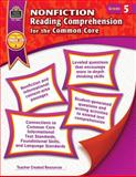 Nonfiction Reading Comprehension for the Common Core Grd 5, Heather Wolpert-Gawron, 1420638262