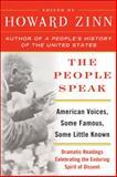 The People Speak, Howard Zinn, 0060578262
