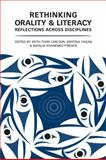 Orality and Literacy : Reflections Across Disciplines and Cultures, , 0802098266