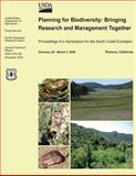 Planning for Biodiversity: Bringing Research and Management Together, United States Department of Agriculture, 1481968270