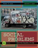 Social Problems and the Quality of Life, Lauer, Robert H. and Lauer, Jeanette C., 0073528285