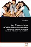 Key Characteristics of Effective Middle Schools, Terri R. Nyman, 3639078284