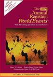 The Annual Register : World Events 2009, , 1600308287
