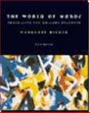 The World of Words, Margaret A. Richek, 0395958288