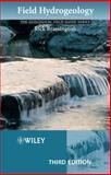 Field Hydrogeology, Rick Brassington, 0470018283