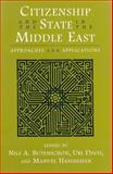 Citizenship and the State in the Middle East 9780815628293