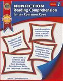 Nonfiction Reading Comprehension for the Common Core Grd 7, Heather Wolpert-Gawron, 1420638297