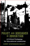 Policy and Research in Education 9781433108297