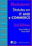 IT and e-Commerce, Aplin, Tanya and Hedley, Steve, 0199288291