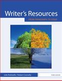 Writer's Resources : From Paragraph to Essay, Robitaille, Julie and Connelly, Robert, 0495908304