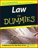 Law for Dummies®, John Ventura, 0764558307