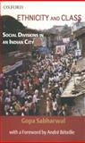Ethnicity and Class : Social Divisions in an Indian City, Sabharwal, Gopa, 0195678303