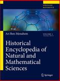 Historical Encyclopedia of Natural and Mathematical Sciences, Ben-Menahem, Ari, 3540688315