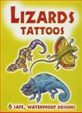 Lizards Tattoos, Christy Shaffer, 0486448312