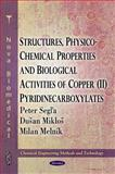 Structures, Physico-Chemical Properties and Biological Activities of Copper (II) Pyridinecarboxylates, Segla, Peter and Miklos, Dusan, 1617618314