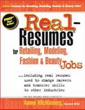 Real-Resumes for Retailing, Modeling, Fashion and Beauty Jobs, , 188528831X