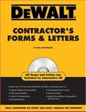 Contractor's Forms and Letters, Rosenberg, Paul and American Contractors Educational Services Staff, 0977718328