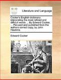 Cocker's English Dictionary, Edward Cocker, 1170668321