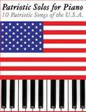 Patriotic Solos for Piano, Uncle Sam, 1477408320