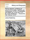 Racing Calendar, James Weatherby, 1170468322