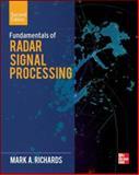 Fundamentals of Radar Signal Processing, Second Edition, Richards, Mark A., 0071798323