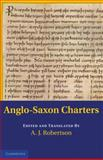 Anglo-Saxon Charters, , 0521178320