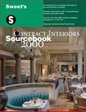 Sweet's Contract Interiors Sourcebook 2000 9780071358330