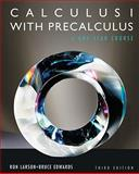 Calculus I with Precalculus, Larson, Ron and Hostetler, Robert P., 0840068336