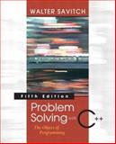 Problem Solving with C++ 9780321288332