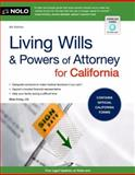 Living Wills and Powers of Attorney for California, J.D., Shae Irving, 1413318339