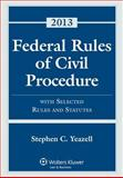 Federal Rules Civil Procedure W/ Select Stat Case Material 2013