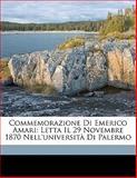 Commemorazione Di Emerico Amari, Luigi Sampolo, 1149668334