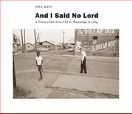 And I Said No Lord, Joel Katz, 081731833X