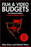 Film and Video Budgets, Simon, Deke and Wiese, Michael, 0941188345