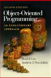 Object-Oriented Programming : An Evolutionary Approach, Cox, Brad J. and Novobilski, Andrew, 0201548348