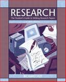 Research : The Student's Guide to Writing Research Papers, Veit, Richard, 0321198344