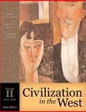 Civilization in the West, Volume II (since 1555) (with Study Card), Kishlansky, Mark and Geary, Patrick, 0205558348