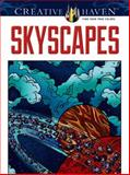 Skyscapes, Jessica Mazurkiewicz and Coloring Books for Adults Staff, 0486488349