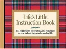 Life's Little Instruction Book, H. Jackson Brown, 1558538356