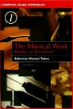 The Musical Work 9780853238355