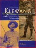 Klewang : Catalogue of the Dutch Army Museum, Puijpe, Jan Piet and Sturler Boekwijt, Rob de, 9051668368
