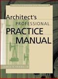 Architect's Professional Practice Manual 9780071358361