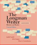 The Longman Writer : Rhetoric and Reader, Nadell, Judith and Comodromos, Eliza A., 0205798373
