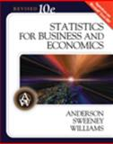 Statistics for Business and Economics, Anderson, David R. and Sweeney, Dennis J., 0324658370