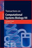 Transactions on Computational Systems Biology VII, , 3540488375