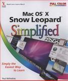 Mac OS X Snow Leopard Simplified, Paul McFedries, 0470508388