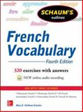 Schaum's Outline of French Vocabulary, Crocker, Mary, 0071828389