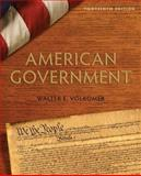 American Government, Volkomer, Walter E., 0205778380